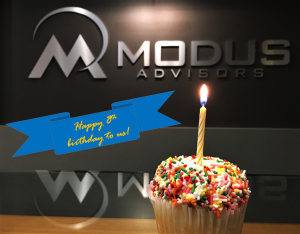 Modus Birthday With Banner